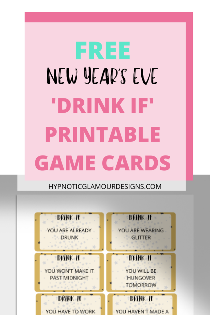 free nye drinking game pin