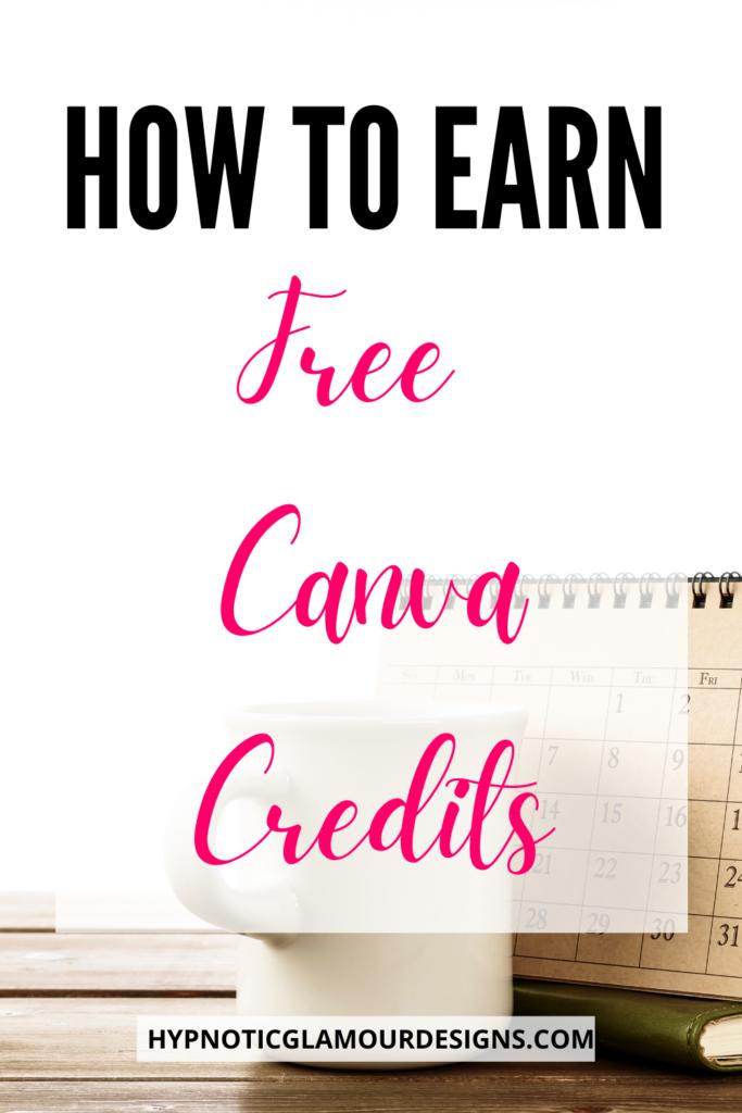 free canva credits